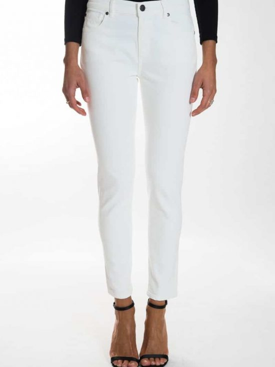 Acynetic slim white jeans