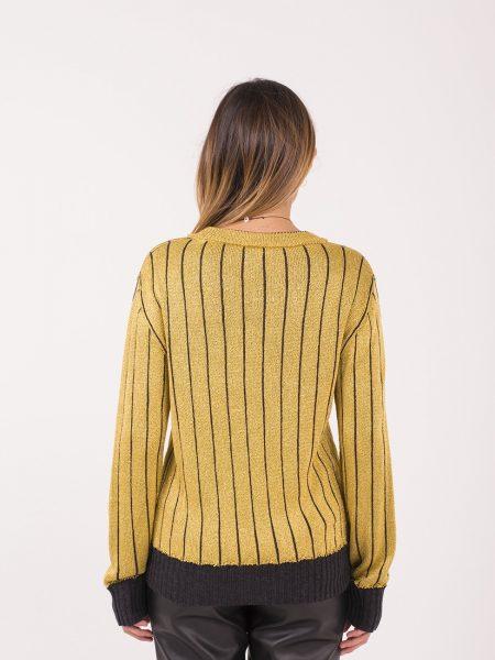 Casa Nodo maglione lurex