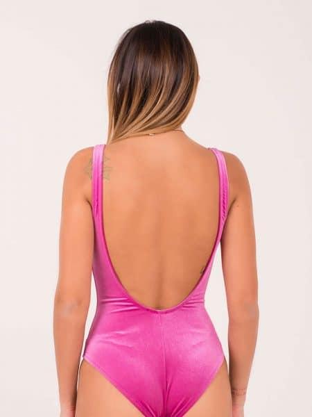 Mimì à la Mer body velluto rosa
