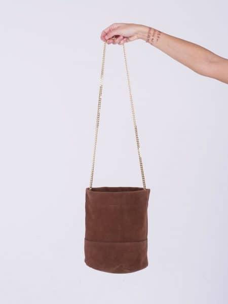 Mon EsSentielle borsa secchiello marrone