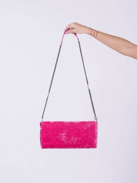 Attic and Barn borsa pochette rosa