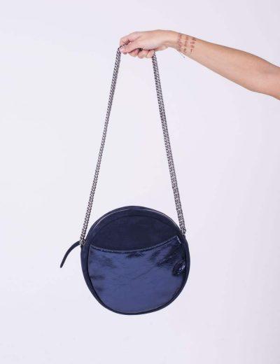 Mon EsSentielle borsa tonda blu
