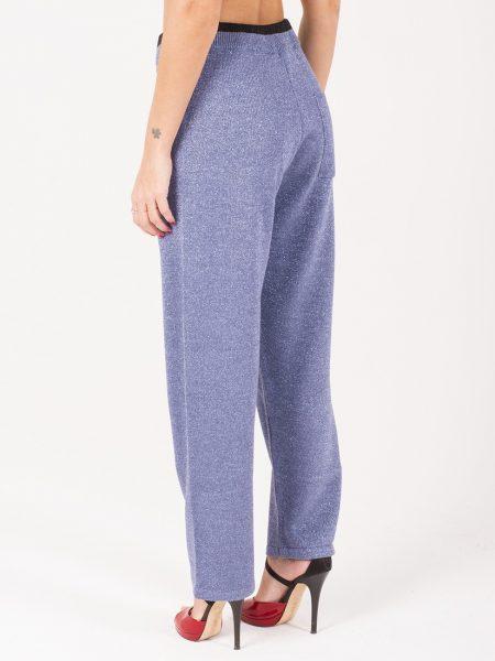 Rame pantalone lurex