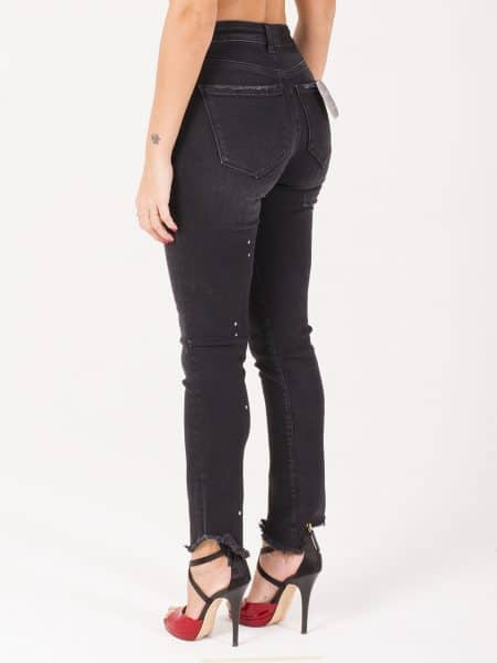 Acynetic jeans con vernice