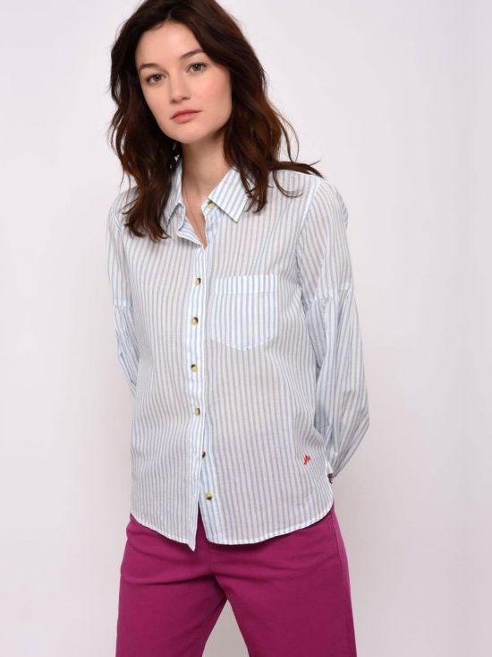 Leon and Harper Caillou Stripes Camicia