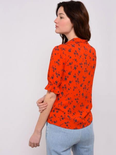 Leon and Harper Cracotte Cherry Blusa