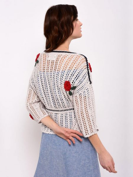 Leon and Harper Meduse Crochet Cardigan