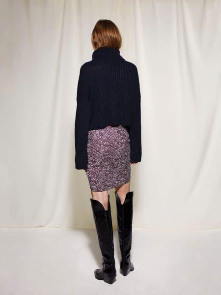 Les Coyotes De Paris Beaudine Skirt Batik Print