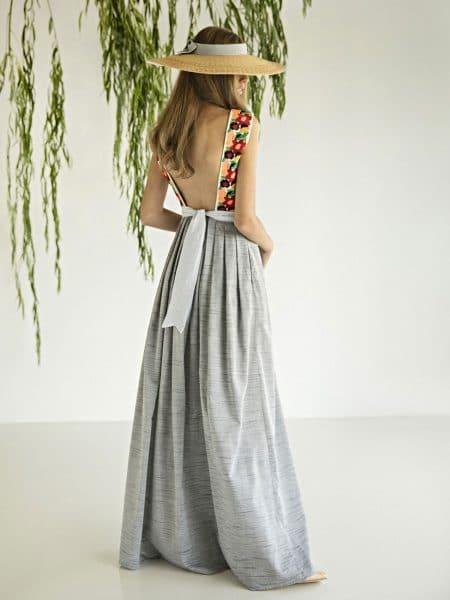 Madame Shoushou Cendre Dress