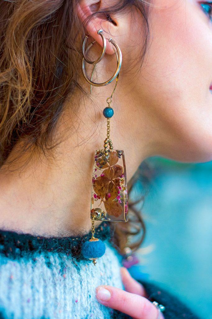 Resina e fiori, crea il tuo bijoux!