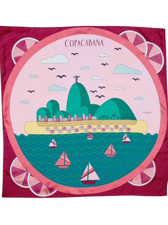 Cha•Val Milano Foulard Copacabana