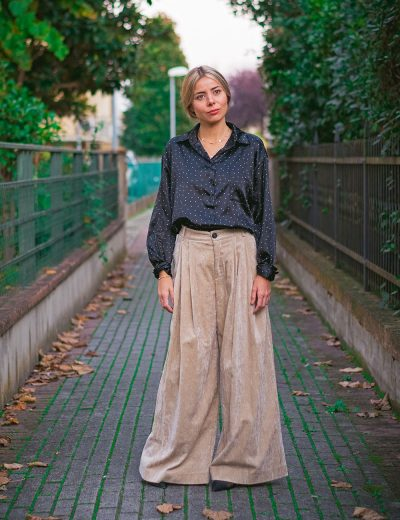 Phisique du Role Pantalone Over Velluto Chantilly